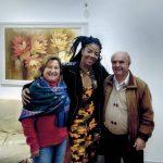 Ludmilla com a Dona Feli e Sr. Antonio