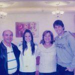 Fernanda Vasconcellos & Gustavo Leão juntamente de Dona Feli e Sr. Antonio